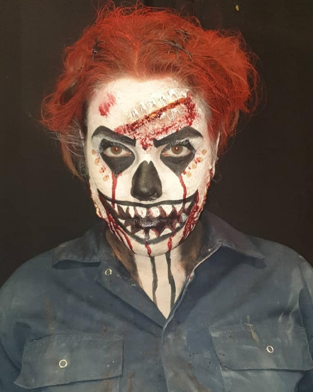 Honning Halloween Horor Clown |
