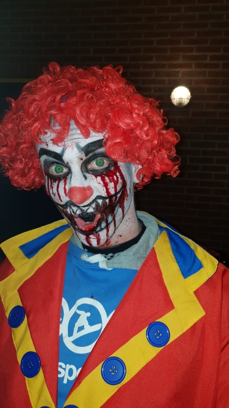 Spooktocht Halloween Horror clown | 19 oktober 2018